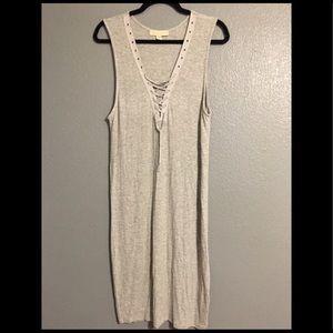 Nicki Minaj Drawstring Dress